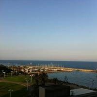 Photo taken at Hilton Tel Aviv by Adhishesh S. on 5/20/2013
