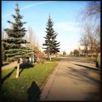 Photo taken at Сквер им. Кирова by Ekaterina B. on 11/23/2012