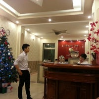 Photo taken at Thanh Thuy Hotel by Deana O. on 12/12/2012