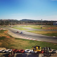 Photo taken at Karting Club Vendrell by Xavi B. on 12/30/2012