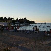 Photo taken at Пляж «Песочный» / Pesochniy Beach by andrey s. on 7/13/2016