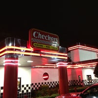 Photo taken at Checkers by Jarka W. on 4/16/2014