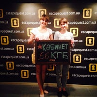 Photo taken at Escape Quest на Подоле by Alina K. on 7/27/2014