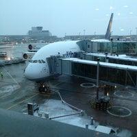 Photo taken at Lufthansa Flight LH 462 by Dominik W. on 1/17/2013