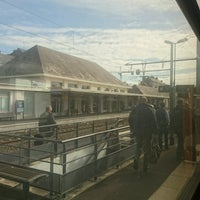 Photo taken at Gare SNCF de Saumur by GARY on 10/19/2016