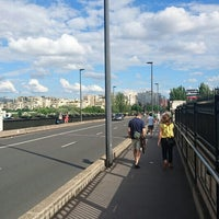 Photo taken at Pont de Levallois by GARY on 6/25/2016