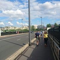 Photo taken at Pont de Levallois by GARY on 6/25/2016