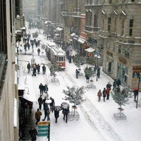 Photo taken at İstiklal Avenue by Murat (. on 12/25/2012