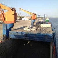 Photo taken at Zıguınchor Port by Giray A. on 2/17/2014
