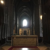Photo taken at Basilique Notre-Dame d'Avesnières by Felix S. on 6/25/2017