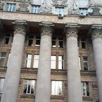 Photo taken at КНЕУ / Київський національний економічний університет ім. В. Гетьмана by Евгений З. on 12/8/2012