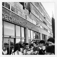 Photo taken at E.T.S.I. de Caminos, Canales y Puertos (UPM) by Javi G. on 6/23/2013