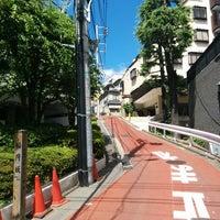 Photo taken at 稲荷坂 by Hajime F. on 8/19/2014