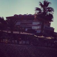 Photo taken at Chiringuito playa Varadero by sisectoriales on 9/1/2013