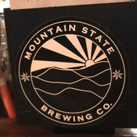 Photo taken at Mountain State Brewery by Brigitte B. on 7/22/2017