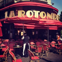 Photo taken at La Rotonde by Christelle S. on 7/23/2013