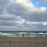 Photo taken at Spanish River Beach by Phoebe V. on 1/1/2013