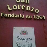 Photo taken at Bodega San Lorenzo by Alvaro D. on 12/7/2012