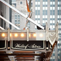 Photo taken at Waldorf Astoria New York by Waldorf Astoria New York on 1/29/2015