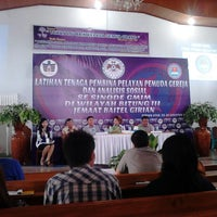 Photo taken at GMIM Baitel Girian Atas by Andrew C. on 8/24/2013