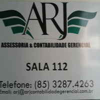 Photo taken at ARJ Contabilidade by Felipe S. on 2/6/2013
