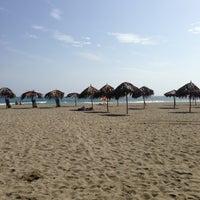 Photo taken at Playa Pelúa by Nathalie A. on 4/21/2013