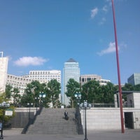 Photo taken at Canary Wharf Pier by Johão L. on 7/18/2013