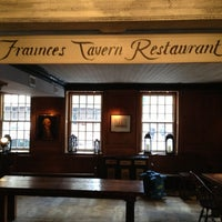 Photo taken at Fraunces Tavern by Mark H. on 1/17/2013
