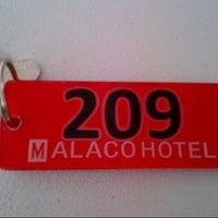 Photo taken at Malaco Hotel by Mark Dane N. on 6/2/2013