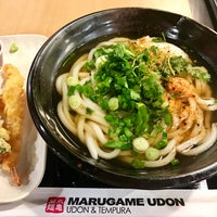 Photo taken at Marugame Udon by Angela G. on 10/19/2017