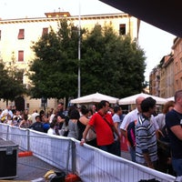Photo taken at Piazza Tacito by LINDA D. on 9/22/2012