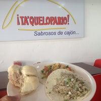 Photo taken at Ta'quelopario by Rafael J. on 4/19/2013