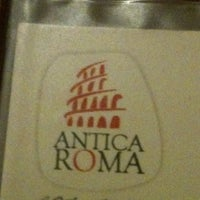 Photo taken at Antica Roma by Alejandra A. on 12/21/2012