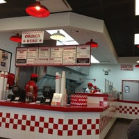 Photo taken at Five Guys by Caleb B. on 6/6/2013