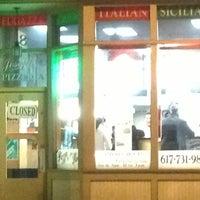 Photo taken at Joseph's Pizza by John D. on 1/13/2013