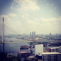 Photo taken at Tempozan Giant Ferris Wheel by Morgan C. on 6/10/2013
