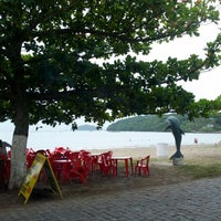 Photo taken at Praia Alegre by Dirk H. on 12/28/2012
