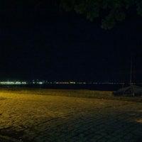 Photo taken at Praia Alegre by Dirk H. on 1/18/2013