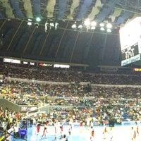 Photo taken at SMART Araneta Coliseum by Glenn M. on 5/12/2013