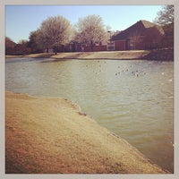 Photo taken at Addison Les Lacs Duck Pond by Elysa E. on 3/15/2013