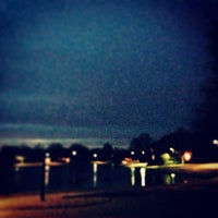 Photo taken at Addison Les Lacs Duck Pond by Elysa E. on 2/1/2014
