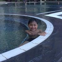 Photo taken at Upper Sanctuary Swimming Pool by Roceliza B. on 5/5/2014
