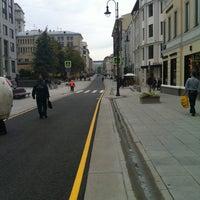 Photo taken at Bolshaya Dmitrovka Street by Надежда 🎀 on 9/13/2013