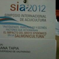 Photo taken at Salón de Honor - Universidad de Santiago de Chile by Diana T. on 11/28/2012
