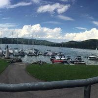 Photo taken at Modrá loděnice - Jachtklub by Deniska J. on 8/14/2016