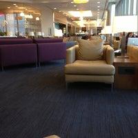 Photo taken at British Airways Galleries Lounge by Will H. on 5/7/2013