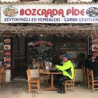 3/26/2018 tarihinde Ege E.ziyaretçi tarafından Bozcaada Pide'de çekilen fotoğraf