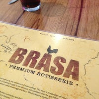 Photo taken at Brasa Premium Rotisserie by Jay C. on 2/5/2013