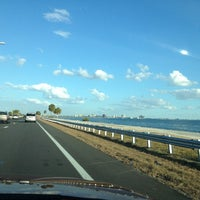 Photo taken at Courtney Campbell Causeway by Kim W. on 12/3/2012