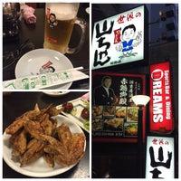 Photo taken at 世界の山ちゃん 笹島店 by SPEED BIRD on 5/2/2015